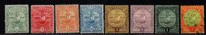 $Grenada Sc#68//76 used+M/H/F-VF, part set, ex. 75, 76 used, Cv. $161.50
