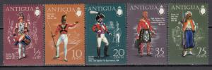 Anguilla - 1970 Military Uniforms Sc# 262/266 - MNH (459N)
