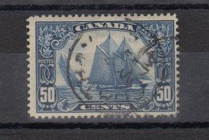 Canada 1928 50c Bluenose SG284 CDS VFU J8560