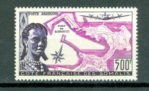 SOMALI COAST WOMAN & MAP #C20...MNH...$67.50