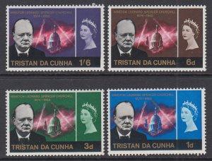 Tristan da Chuna 89-92 Churchill MNH VF
