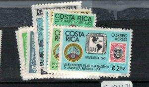 Costa Rica SC C661-71 MOG (5ecl)