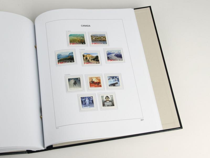 DAVO Luxe Hingless Album Canada II 1970-1985