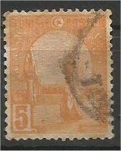 TUNISIA, 1921, used 5c, Mosque Scott 33