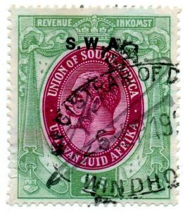 (I.B) South-West Africa Revenue : Duty Stamp 2/-