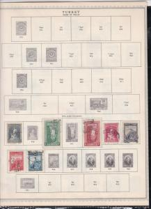 turkey issues of 1923-51 stamps page ref 18462