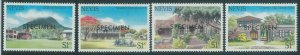 78435c  -  NEVIS  - STAMPS:  ARCHITECTURE  4 values MNH - Overprinted SPECIMEN