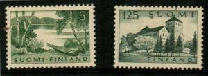 Finland Scott 380-381 Mint hinged (Catalog Value $24.90)
