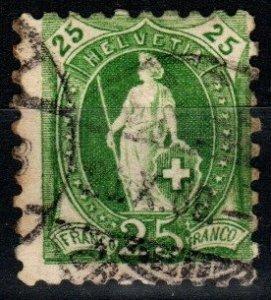Switzerland #90  Used CV $24.00 (X1418)