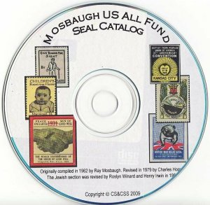 Mosbaugh's U.S. All Funds Charity Seal Catalog, Sections 1 to 11, 1984 ed., CD