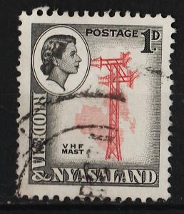 Rhodesia and Niasaland 1959/1963 Various Designs 1p (1/15) USED