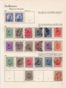slovenia 1925-26 used stamps  ref 10535