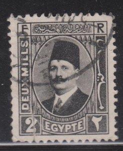 Egypt Sc# 129 Used - tear at bottom