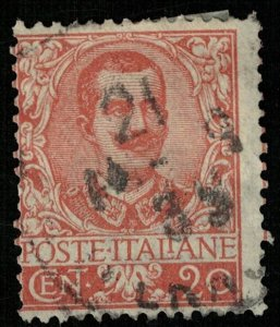 1901, Victor Emmanuel III, 20 c, Italy, MC #78, CV $ 9.37 (T-7907)