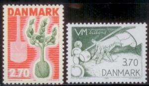 Denmark 1984 SC#749-50 MNH-OG L251