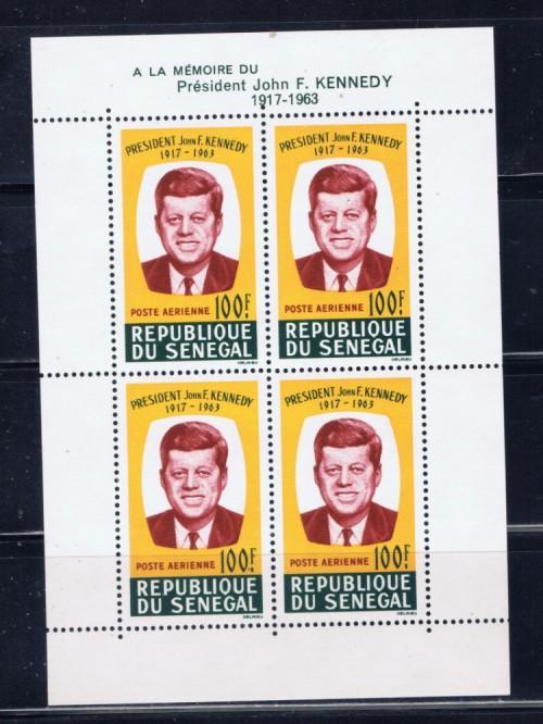 Senegal C40a NH 1964 John F Kennedy S/S