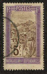 Madagascar, Scott #114, Used