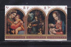 Gibraltar 232a Set MNH Christmas (A)