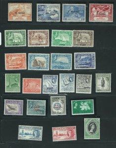 Aden V.Rare Sets 1939 King George+1946 Victory+1949 Wpv + 1953 Q. E Krönung