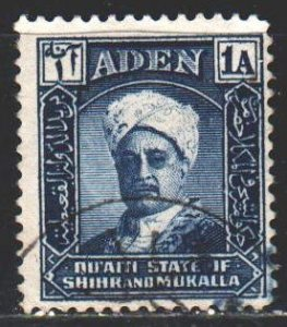 South Arabia. 1942. 3 from the series. Sultan of Shira and Mukalla. USED.