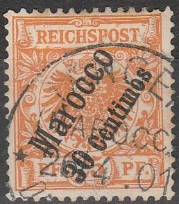 Germany Offices In Morocco #5  Used CV $32.50 (A16811)