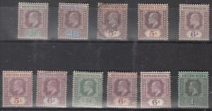 Northern Nigeria Scott 10 // 48 Mint hinged (one used) - Catalog Value $101.25