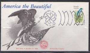 1980 Nevada Birds and Flowers Unaddressed KMC Ventures FDC