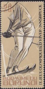 Burundi 72 IX Winter Olympic Games, Innsbruck 1964