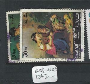 SHARJAH   (PP1403B)  ART   2 VALUES  VFU