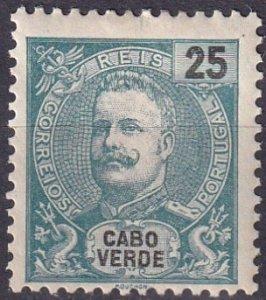 Cape Verde #42  F-VF Unused CV $3.50  (Z2519)