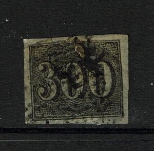 Brazil SC# 27, Used, tiny top nick, large page/hinge remnant - Lot 090317