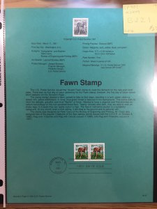US #SP901 / #2479 Fawn Stamp