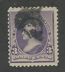 1890 United States Scott Catalog Number 221 Used
