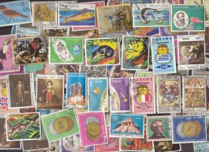 100 All Different PANAMA Stamps