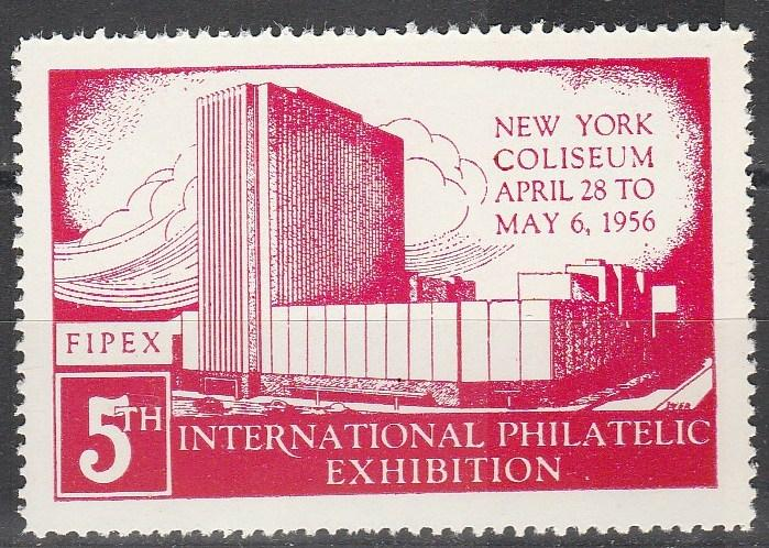US 1956 FIPEX Exhibition MNH (S1267L)