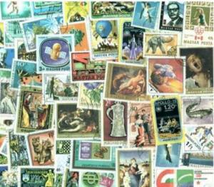 Hungary Stamp Pictorials Collection - 1,000 Different Large Stamps