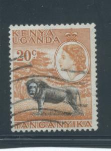 Kenya, Uganda, Tanzania 107  F-VF  Used  cjr