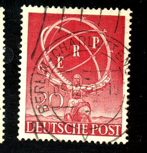 GERMANY #9N68 USED VF Cat $30