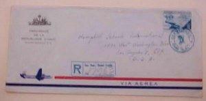 DOMINICAN REPUBLIC  HAITI CONSUL 1956 B/S USA