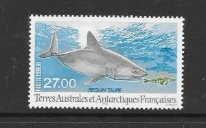 SHARK - FRENCH SOUTHERN ANTARCTIC TERRITORIES #242  MNH