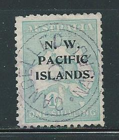 North West Pacific Islands 34 1sh Roo single Used