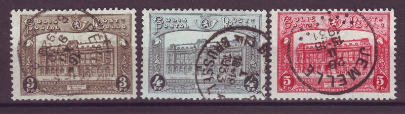 J14767 JLstamps 1929-30 belgium part of se used #q176-8 railroad stamps