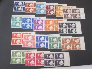 French Mauritania 1945 198-26 BLK(4) set MNH
