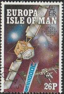 Isle Of Man, #470 Used From 1991