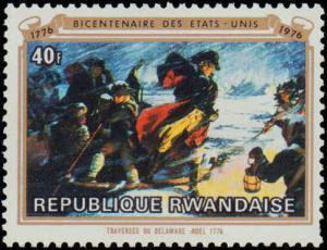 1976 Rwanda #722-729, Complete Set(8), Never Hinged