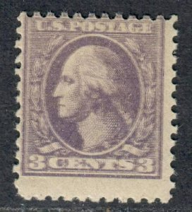 $US Sc#530a M/NH/F, double impression, Cv. $40