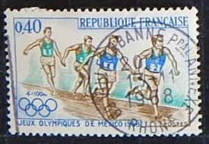 Sport, France, 1968, (№1430-T)