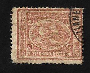 Egypt 1872 - U - Scott #19