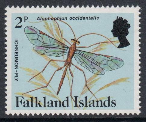 Falkland Islands - 1984 Insects and Spiders (2p) (MNH)