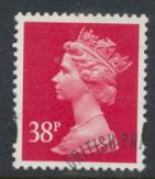 Great Britain SG Y1706 Sc# MH227    Used with first day cancel - Machin 38p